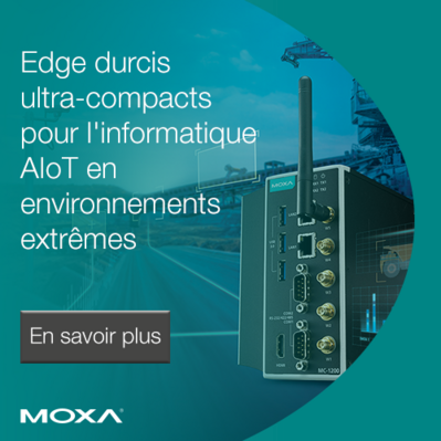 Moxa lance des ordinateurs Edge durcis ultra-compacts