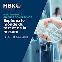 HBK Product Physics Conference, 13-15 octobre 2020
