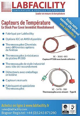 Thermocouples avec aimants