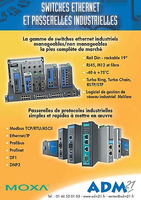 Switches ethernet industriels